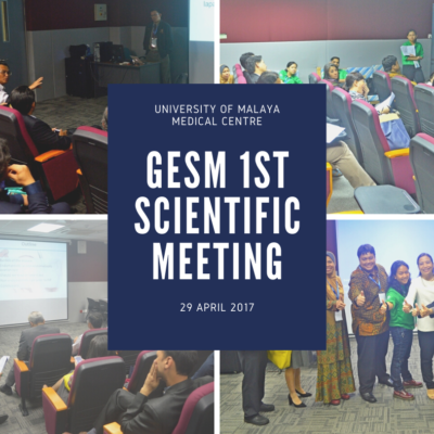 GESM – 1st Scientific Meeting